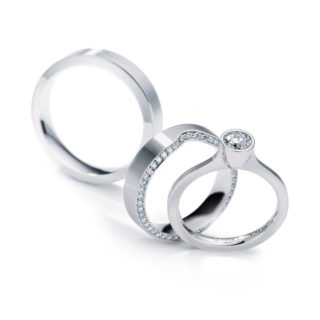 wedding rings bespoke jewellery - German Wedding Rings